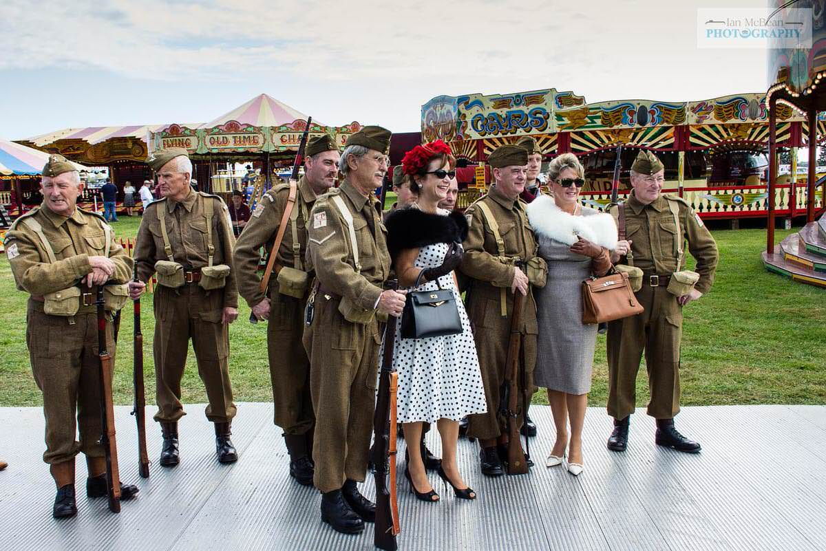 Dads Army at Goodwood